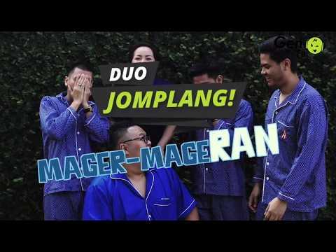 RAN X Duo jomplang! RAN diceburin ke kolam 😂😂😂