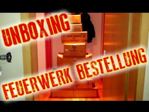 Unboxing Feuerwerk Bestellung 2014/15 (Pyrostation, Röder, Feuerwerksvitrine) - ca. 500 €