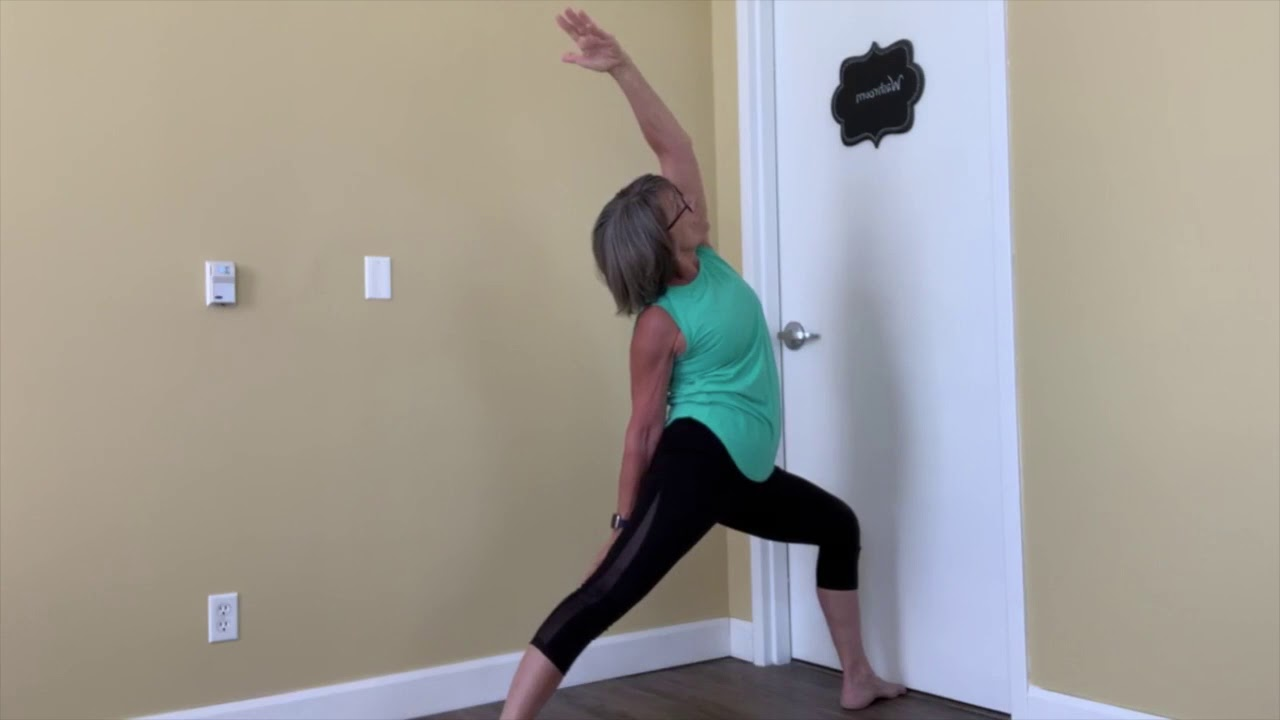 Yoga at the wall with Joanne (35 min)