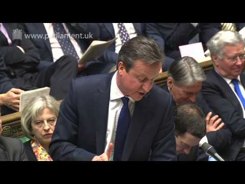 Prime Minister's Questions: 25 March 2015