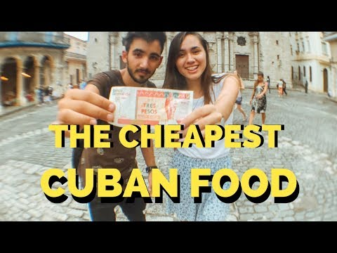 Cuban food in Old Havana in a budget-Carla´s Cuba Travel-Camallerys Vlogs