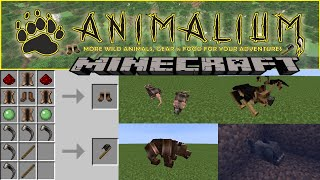 ANIMALIUM - MINECRAFT 1.16.1 (MOD SHOWCASE)