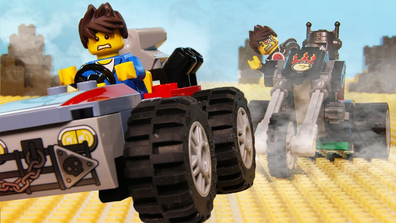 Billy Meets the Evil William!!   LEGO Car Chase Fail   Billy Bricks Stop Motion