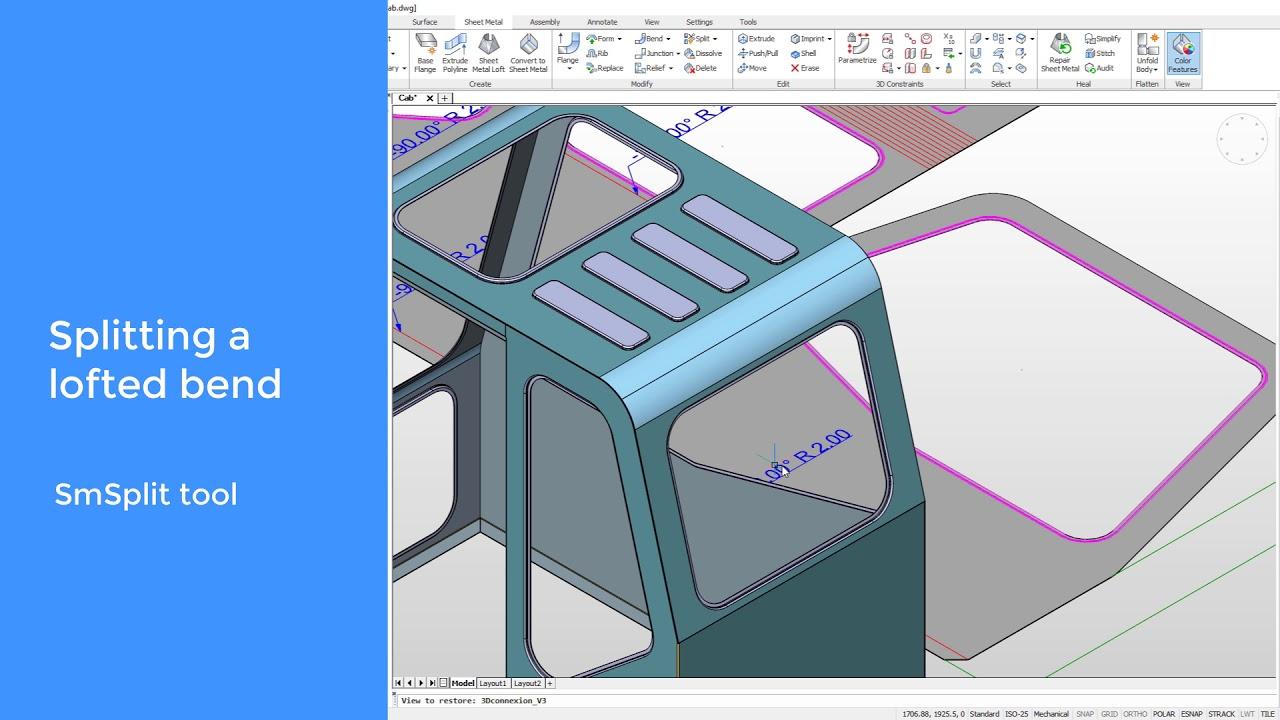 Sheet Metal Tips - BricsCAD Mechanical - Bricsys CAD Blog