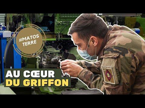Les Griffon du 3e RIMA avant leur départ en opération extérieure