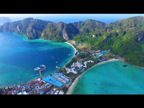 Thailand Travels: Koh Phi Phi & Koh Phangan - DJI Phantom Drone GoPro [Part 2]