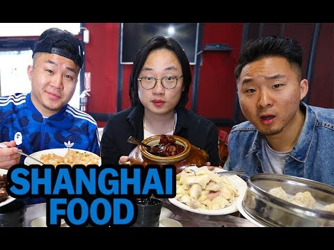 REAL SHANGHAINESE FOOD w/ JIMMY O YANG! (Beyond Soup Dumplin