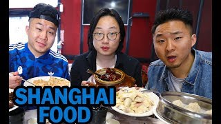REAL SHANGHAINESE FOOD w/ JIMMY O YANG! (Beyond Soup Dumplings) | Fung Bros