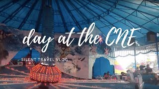 let's go to the ex: a silent travel vlog thumbnail