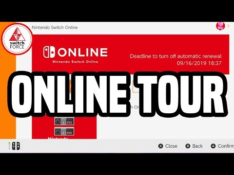 Nintendo Switch Online: FULL TOUR + GUIDE, ALL FEATURES! (Cloud Saves, NES, Special Offers, More!)