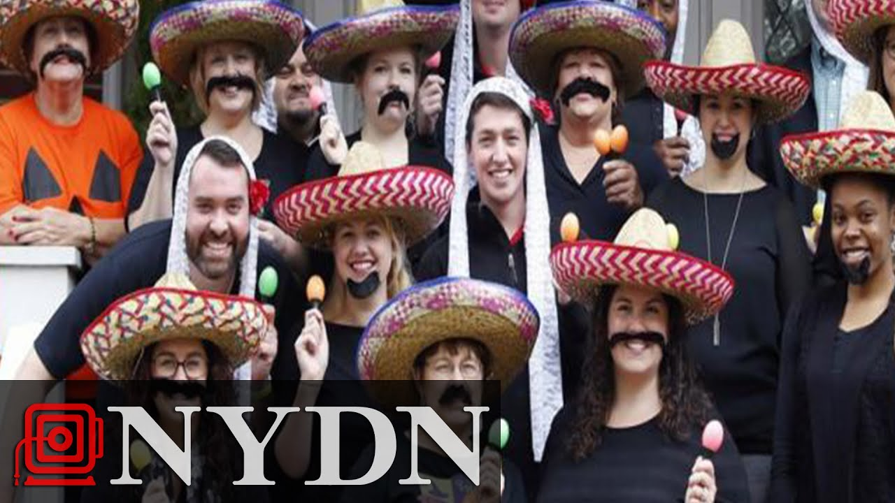 University of Louisville President and Staff Wear Stereotypical u0027Mexicanu0027 Costumes  sc 1 st  YouTube & University of Louisville President and Staff Wear Stereotypical ...