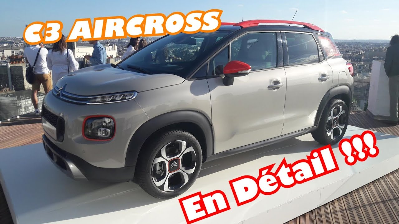 nouveau citroen c3 aircross un suv p tillant youtube. Black Bedroom Furniture Sets. Home Design Ideas