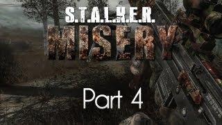 STALKER: Call of Pripyat — Misery Mod — Part 4 — Bloodsucker Lair!
