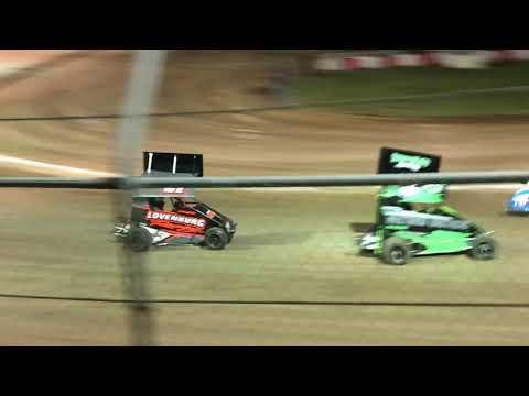 Delta Speedway Turkey Bowl 10/27/18 Jr Sprint Main- Cash