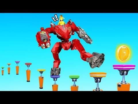 I Played a Deathrun WITH A MECH!? (Fortnite)