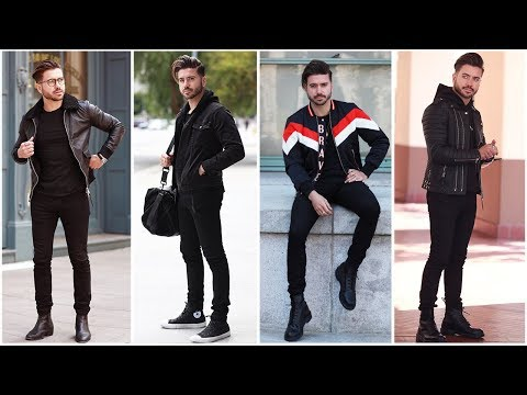 4-easy-outfits-for-men-(all-black)-|-men's-outfit-inspiration-lookbook-2018-|-alex-costa