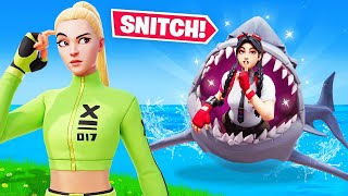 UNDERWATER *HIDE or SNITCH* in Fortnite