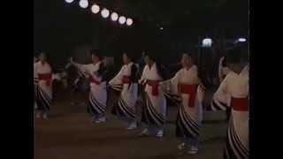 三津屋どんたく 達磨会 盆踊り