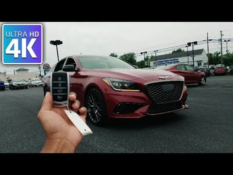 2018 GENESIS G80 SPORT 3.3T IN DEPTH WALKAROUND STARTUP EXTERIOR INTERIOR TECH