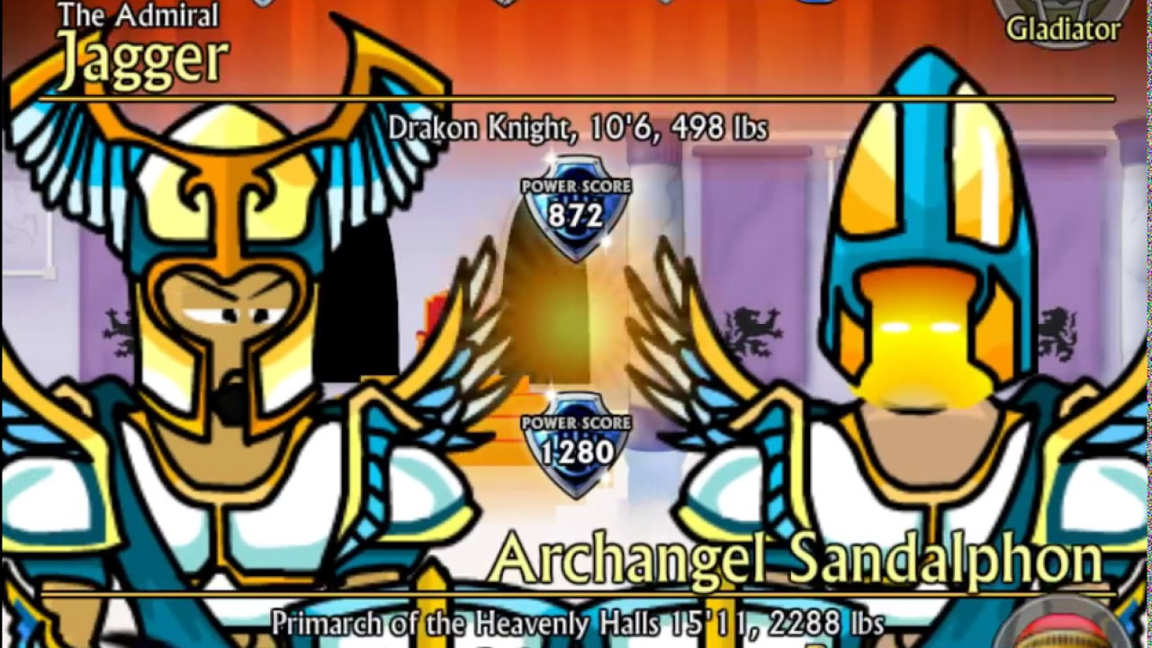 Swords and Sandals 2 Redux Archangel Sandalphon YouTube