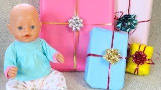 КАК МАМА и Куклы Беби Бон Отмечали День Рождения Мультики для детей Игрушки Подарки Сюрпризы