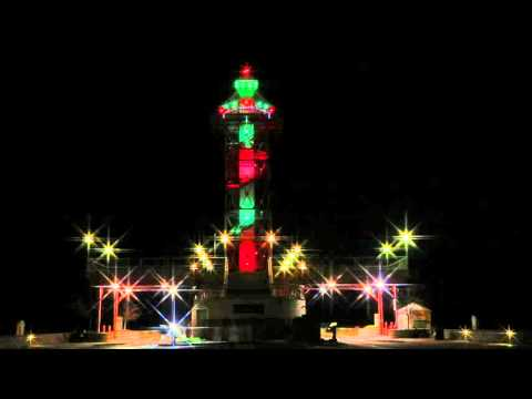 Bicentennial Tower Christmas Colors  |  Erie, PA