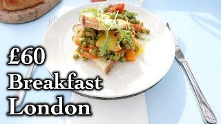 £60 Breakfast On a Crane London