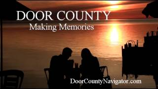 Door County Making Memories | Dinner at Sunset