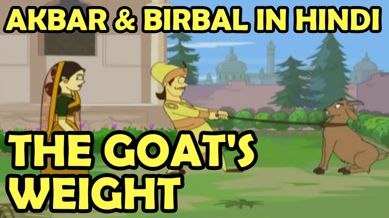 Akbar Birbal Animated Moral Stories | The Goat's Weight