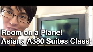 asiana airlines first class suites class a380   new york jfk to seoul incheon icn review