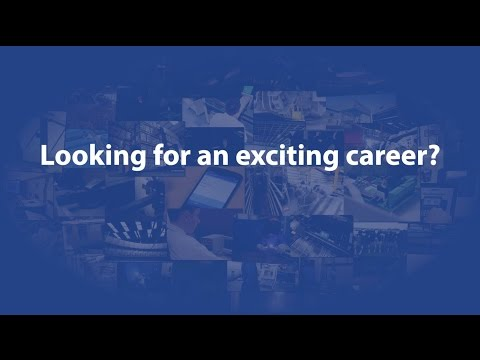 Looking for an exciting career?
