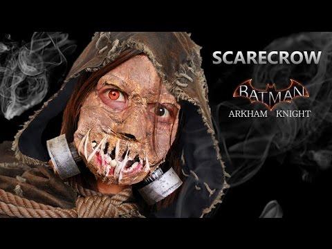 SCARECROW MASK TUTORIAL / SCARECROW Batman Arkham knight