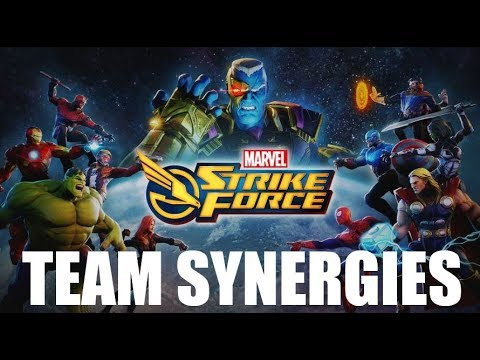 Marvel Strike Force - Team Synergies Guide