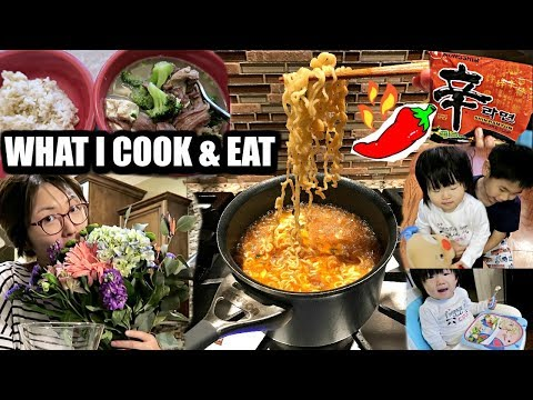 MOMMY LIFE 🙋🏻 3 WAYS TO MAKE OX TAIL SOUP | SPICY  KOREAN RAMEN🍜 | ❤️CHARIS