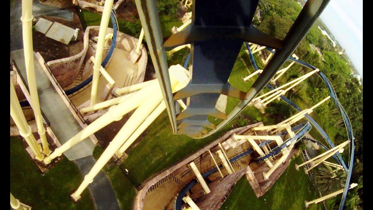 Montu Pov Busch Gardens Tampa Roller Coaster B Amp M Invert
