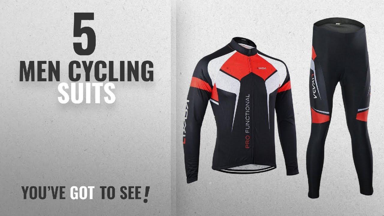 Top 10 Men Cycling Suits  2018   Lixada Men s Cycling Clothing Set ... 70c93695e