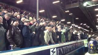 Chelsea Fans Singing You Fucked It Up To Leeds Fans