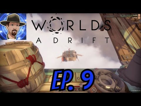 PIRATES ATTACK MY SHIP!  WORLD'S ADRIFT SOLO GAMEPLAY EP. 9