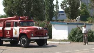 Відбулися змагання з швидкісного маневрування на пожежних автомобілях