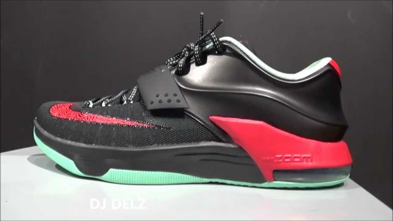 7f6c485d80b Nike KD 7 VII Good Bad Apple Shoe Review With  DjDelz - YouTube