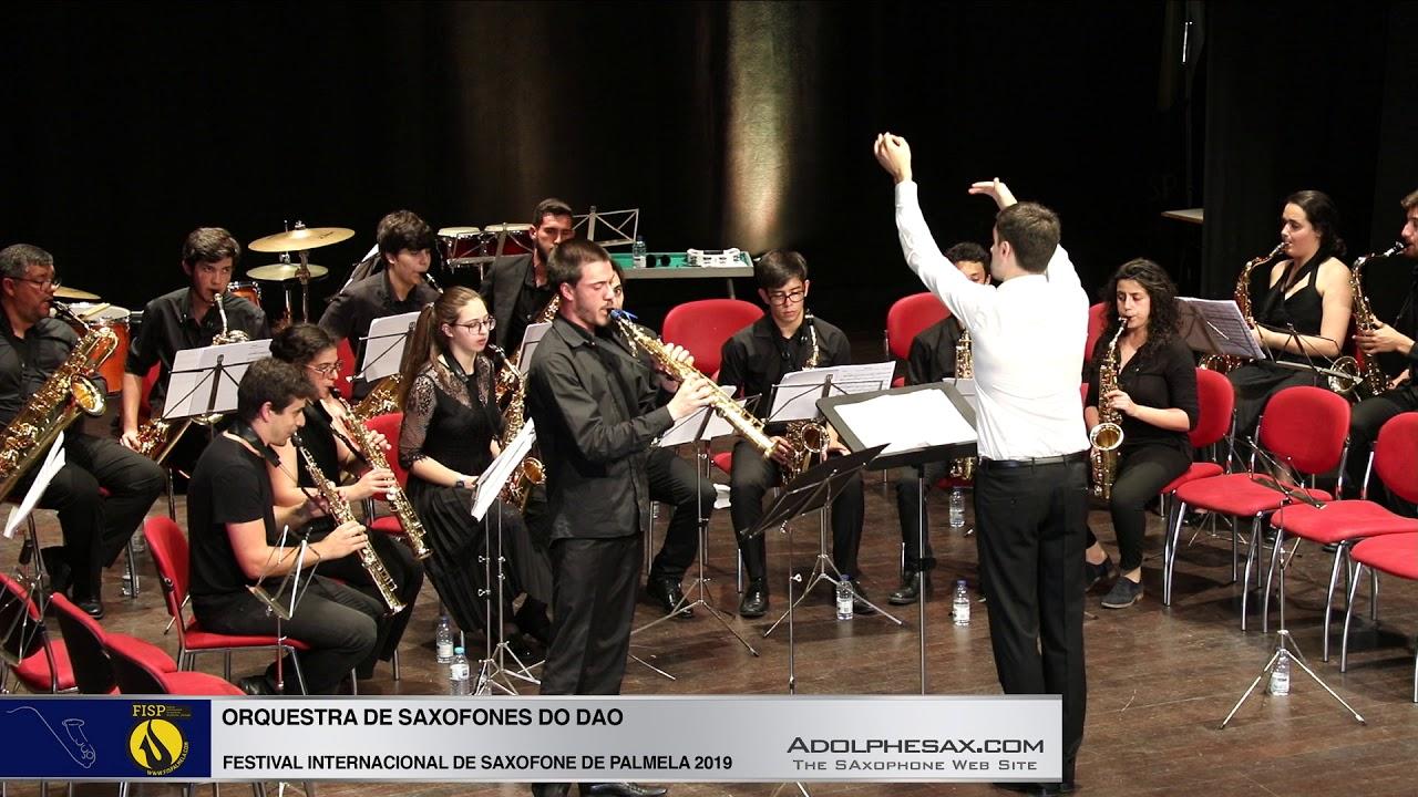 FISPalmela 2019 - Orchestra de Saxofones do DAO - Fantasie by Heitor VIllalobos 3
