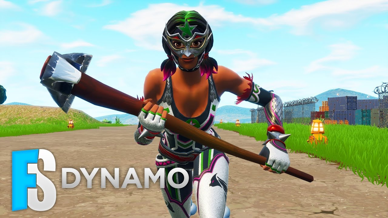 Fortnite Skin - Dynamo Skin Showcase (Fortnite: Battle Royale) #15