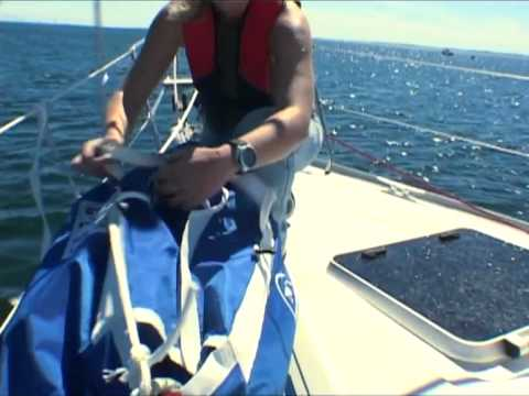 NorthSails - Gennaker and Snuffer instructions video