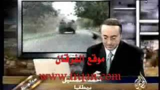 شيعي على قناة الجزيرة : اتمنى انتصار شارون وبوش على العرب