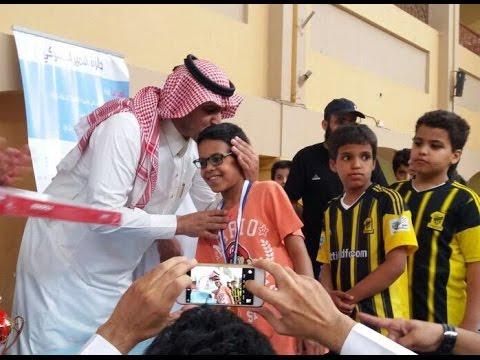 تدشين قناة مدرسة الشيخ عبد العزيز بن صالح الابتدائية بالمدينة