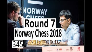 Norway Chess Round 7: Anand joins the leaders!