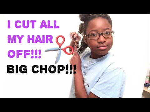 My Big Chop 2017!!! Going Natural Type 4 Hair Transition | Grace Magerz |