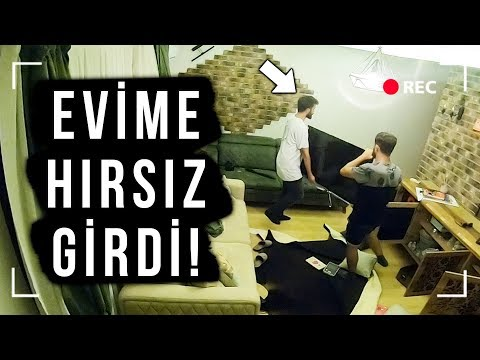 EVİME HIRSIZ GİRDİ! EKİPMANLARI ÇALDI! ŞAKASI ft. DELİ Mİ NE