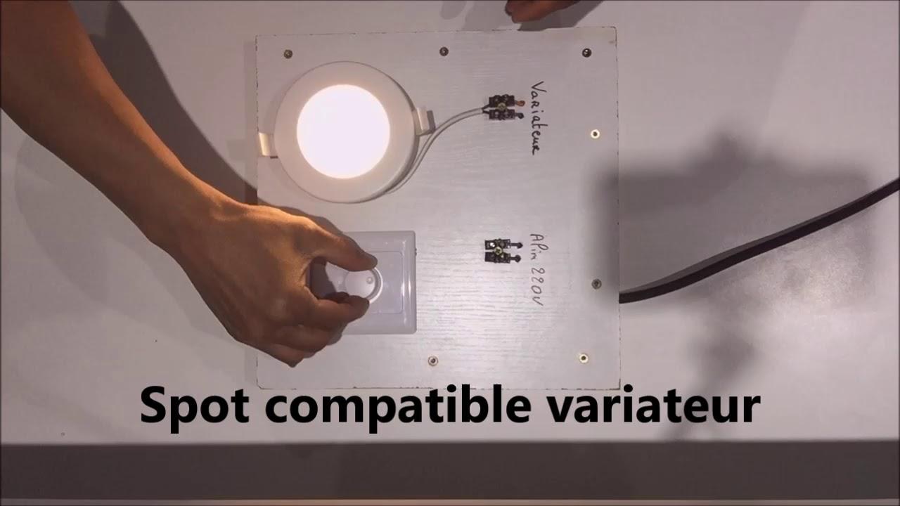 Moderne spot extra plat 6W étanche dimmable - YouTube ZD-76