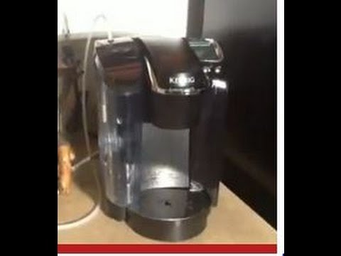 How To Hook A Water Line Your Keurig Coffee Maker